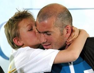 Енцо Зидан - синът на баща си