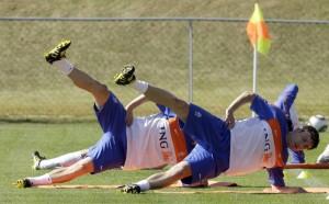 Тонизираща тренировка за футболисти