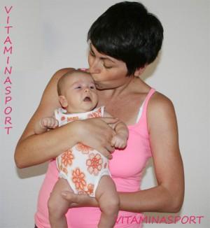 Възстановяване след раждане II -  кардио упражнения и кръгови тренировки  с бебето