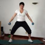 Упражнения за бременни с тежести - да подсилим ръцете за бебето с гири