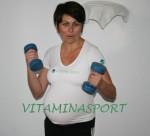 Дневникът на една бременна спортистка (32 - 38 седмици) - много движение и 50% по-малко храна